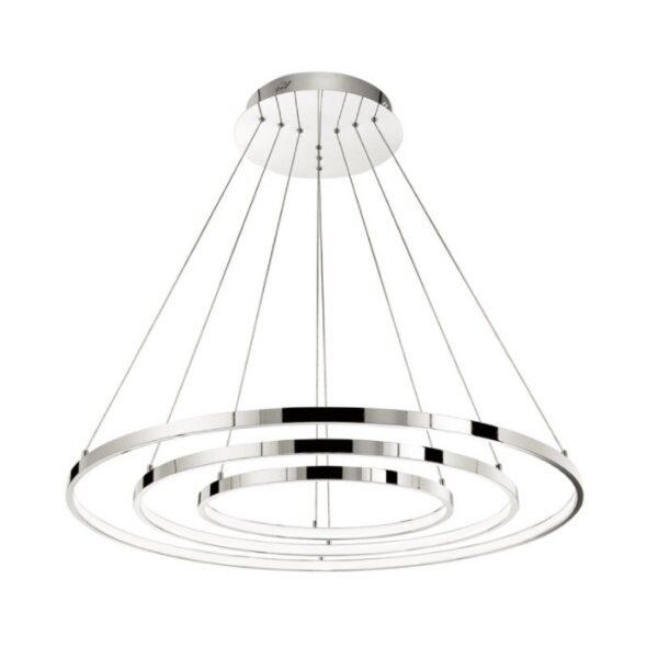Led dimmable μοντέρνο κρεμαστό πολύφωτο σαλονιού-ρυθμιζόμενο σχήμα-Aria Nova Luce