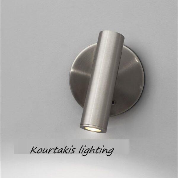 Spot led τοίχου - αλουμίνιο - adjustable - Laredo - Nova Luce