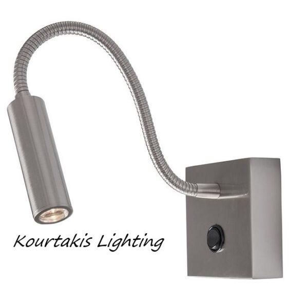 Spot led τοίχου - αλουμίνιο - adjustable - Madison - Nova Luce