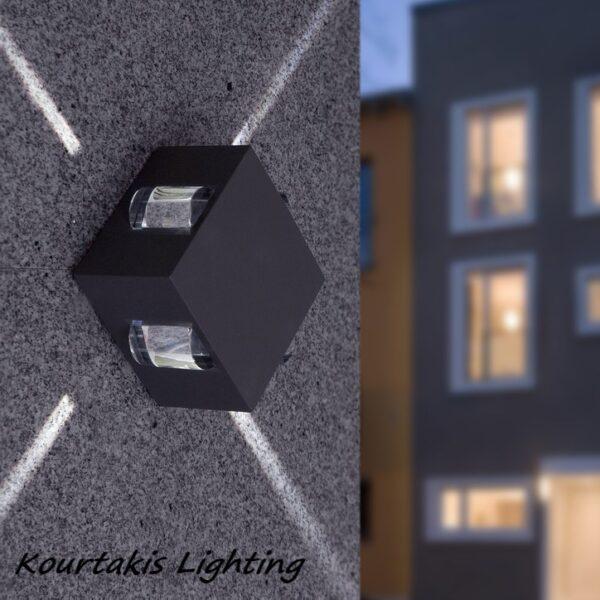 spot διπλης κατευθυνσης led_φωτιστικα τοιχου εξωτερικου χωρου στεγανά _lutec_evans_5186304118