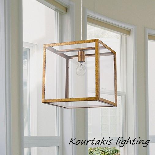Φωτιστικό μεταλλικό μοντέρνο Luma