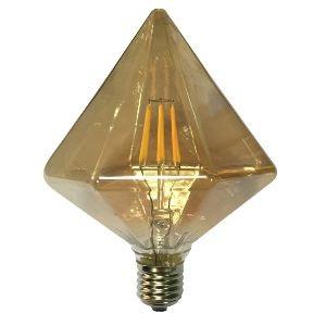 Led Λάμπα Ε27 6Watt Amber Tron 590Lumen Θερμό Λευκό 2700Κ Ντιμαριζόμενη