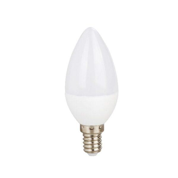 Led Λάμπα Ε14 3Watt Κεράκι Candle Value Plus 245Lumen Ψυχρό Λευκό 6000Κ