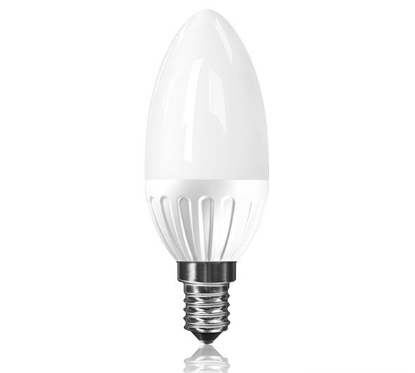 Led Λάμπα Ε14 3.5Watt Κεράκι Candle Value Plus 280Lumen Θερμό Λευκό 3000Κ