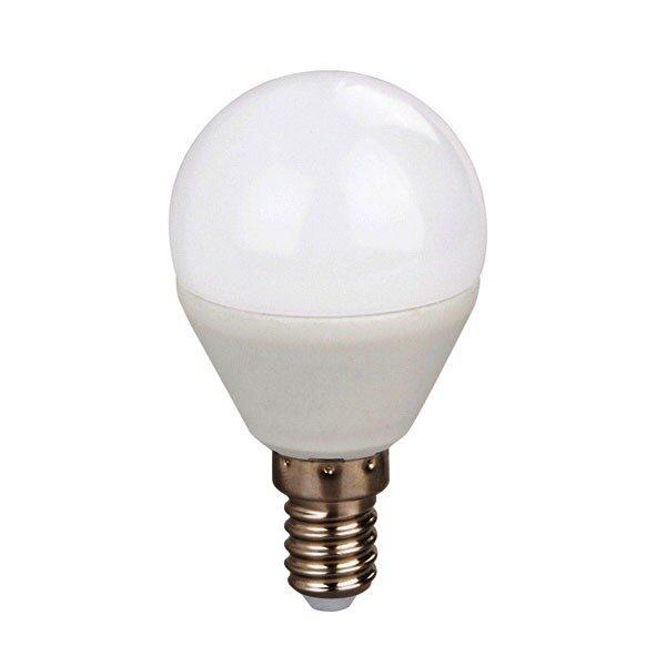 Led Λάμπα Ε14 3Watt Σφαιρική Ball Value Plus 220Lumen Θερμό Λευκό 3000Κ