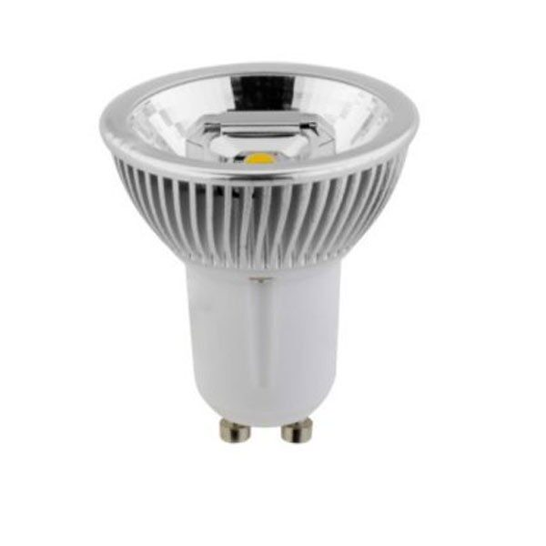 Led Λάμπα GU10 3x2Watt Στενής Δέσμης Double COB Reflector 400±5%Lumen Ψυχρό Λευκό 6500Κ