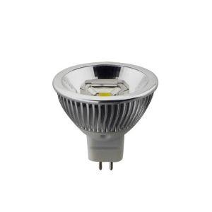 Led Λάμπα MR16 6Watt Στενής Δέσμης Double COB Reflector 400±5%Lumen Φυσικό Λευκό 4000Κ