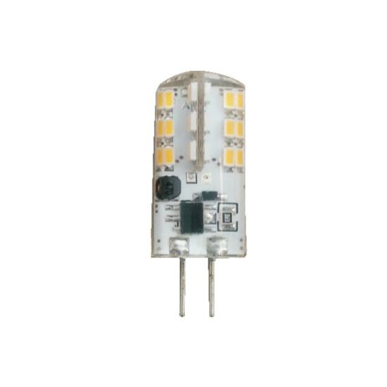 Led Λάμπα G4 2Watt Silicon 170±5%Lumen Φυσικό Λευκό 4000Κ
