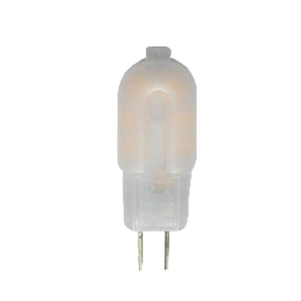 Led Λάμπα G4 2Watt Plastic 150Lumen Θερμό Λευκό 3000Κ