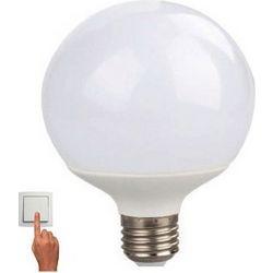 Led Λάμπα E27 10Watt Γλομπέ Globe 780Lumen Θερμό Λευκό 3000Κ