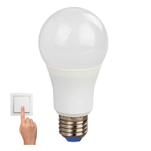 Led Λάμπα E27 10Watt Smart Led A60 800Lumen Color Dimmable