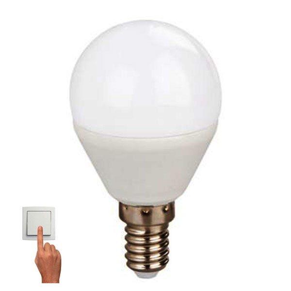 Led Λάμπα E14 5Watt Σφαιρική Ball Smart Led 360Lumen Color Dimmable