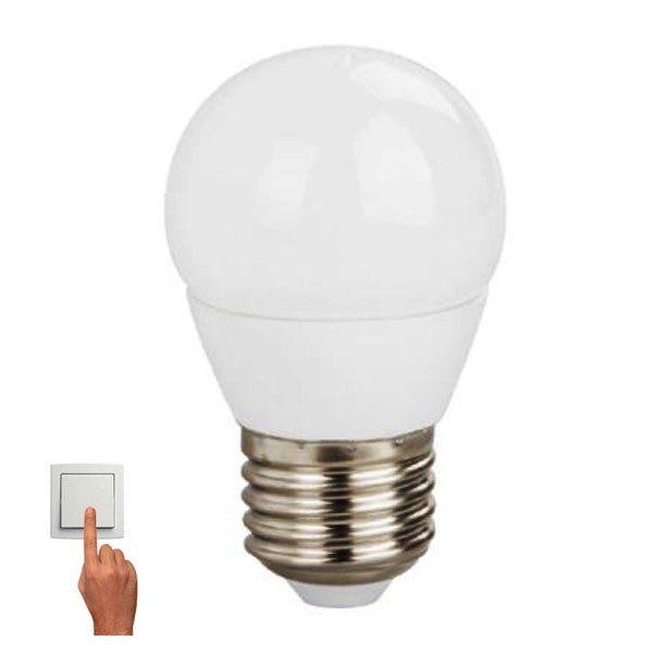 Led Λάμπα E27 5Watt Σφαιρική Ball Smart Led 360Lumen Color Dimmable