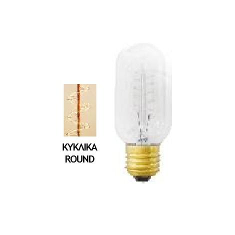 Λάμπα Edison E27 40Watt Filament Mini Θερμό Λευκό 2200Κ