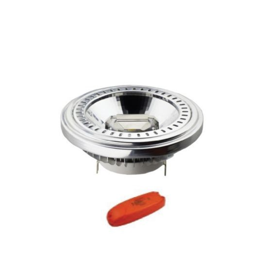 Led Λάμπα AR111 15Watt Double COB Reflector G53 730±5%Lumen Φυσικό Λευκό 4000Κ Ντιμαριζόμενη