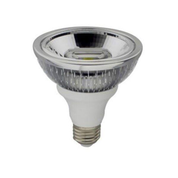 Led Λάμπα PAR30 15Watt E27 Double COB Reflector 750±5%Lumen Ψυχρό Λευκό 6500Κ Ντιμαριζόμενη