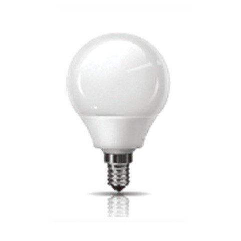 Led Λάμπα Ε14 2Watt Σφαιρική Ball Value 200Lumen Ψυχρό Λευκό 6400Κ