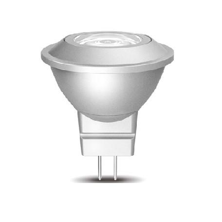 Led Λάμπα MR11 2Watt High Power 90Lumen Θερμό Λευκό 3000Κ