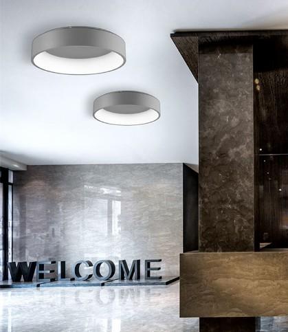 Φωτιστικό LED 42Watt Οροφής Μέταλλο & Ακρυλικό Rando