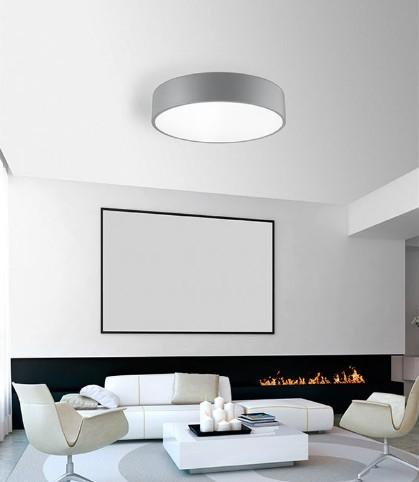 Φωτιστικό LED 34Watt Οροφής Μέταλλο & Ακρυλικό Roda