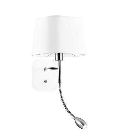 Απλίκα LED Τοίχου 3Watt Μέταλλο & Ύφασμα Montato