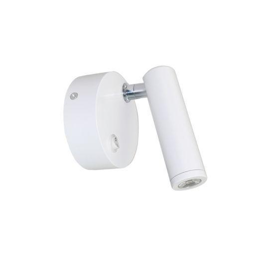 Led Επίτοιχο Φωτιστικό 3Watt 4000K 230V AC Λευκό