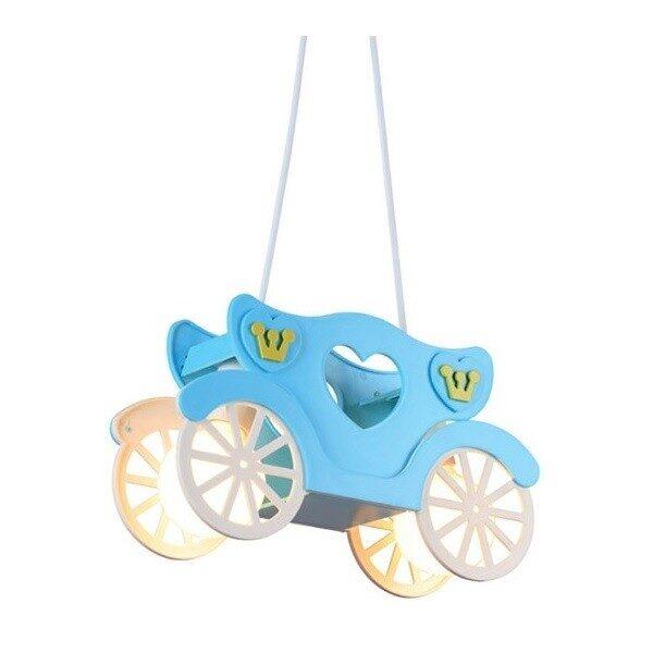 Φωτιστικό Κρεμαστό Παιδικό Πλαστικό με Μέταλλο Μπλε