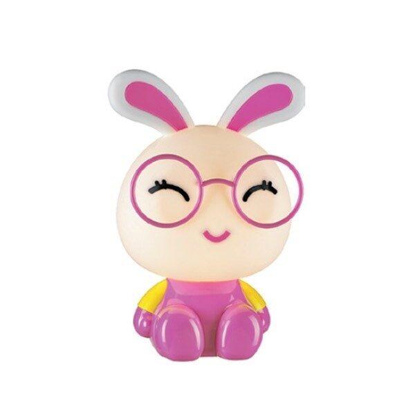 Φωτιστικό Επιτραπέζιο Παιδικό Πλαστικό Κουνέλι Ροζ