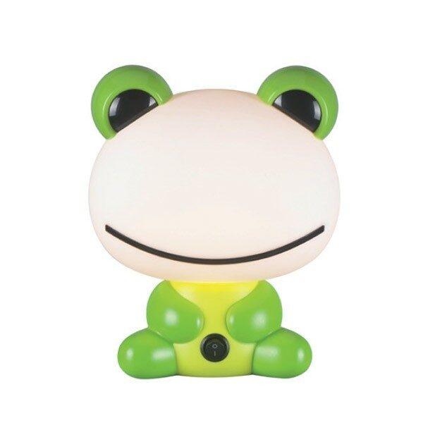 Φωτιστικό Παιδικό Επιτραπέζιο Πλαστικό Βάτραχος Πράσινο
