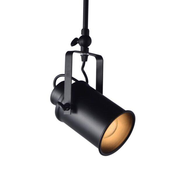 Φωτιστικό Μοντέρνο Σποτ Οροφής Μεταλλικό Μαύρο
