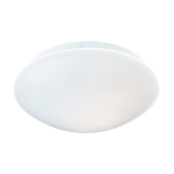 ACA Lighting Πλαφονιέρα Οροφής Λευκή Μοντέρνα
