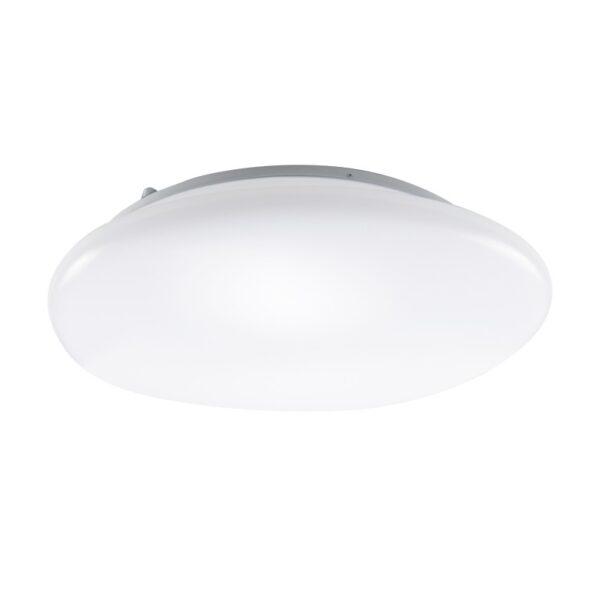 ACA Lighting Πλαφονιέρα Μοντέρνα Οροφής Λευκή σε Δύο Εκδόσεις