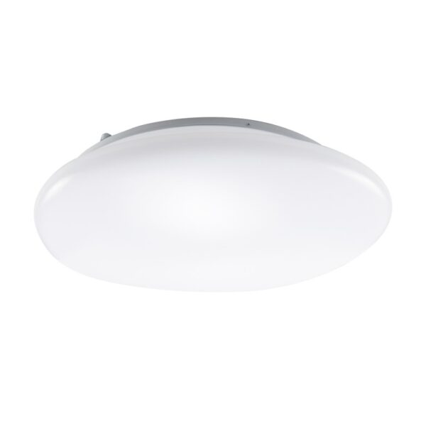 ACA Lighting LED Λευκή Πλαφονιέρα Μοντέρνα Οροφής σε Δύο Εκδόσεις