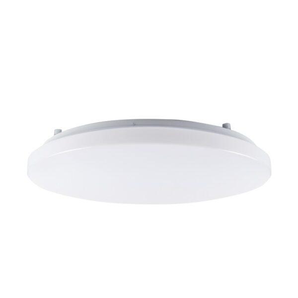 ACA Lighting LED Λευκή Πλαφονιέρα Οροφής Μοντέρνα σε Δύο Εκδόσεις