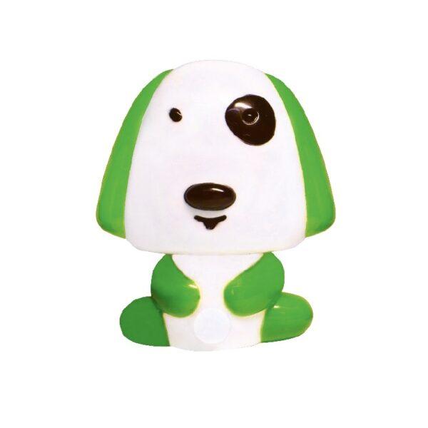 ACA Lighting LED Λαμπάκι Νυκτός Παιδικό Σκυλάκι σε Διάφορα Χρώματα