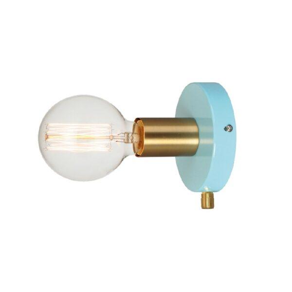 ACA Lighting Σποτ Επίτοιχο Μεταλλικό σε Διάφορα Χρώματα