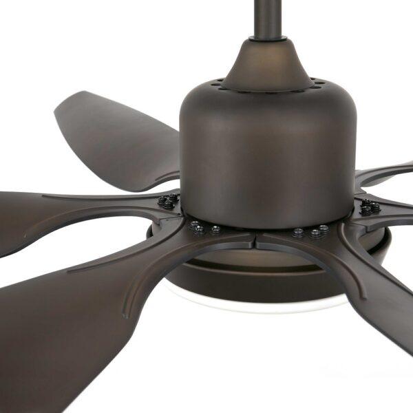 Ανεμιστήρας Οροφής με Φως 6 Ταχυτήτων με Έξι Έλικες και Τηλεχειριστήριο