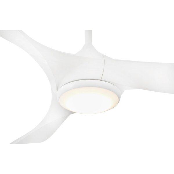 Ανεμιστήρας Οροφής με Φως LED 19Watt 6 Ταχυτήτων με Τηλεχειριστήριο και 3 Έλικες από ABS Πλαστικό Faro Bahamas
