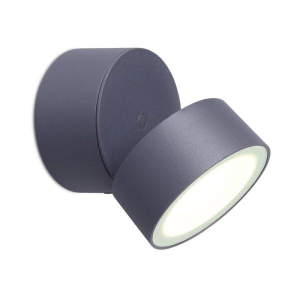 LED Σποτ Επίτοιχο Εξωτερικού Χώρου Στεγανό από Αλουμίνιο Κινούμενο Lutec