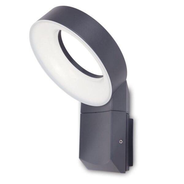 LED Φωτιστικό Επίτοιχο Εξωτερικού Χώρου 14Watt από Αλουμίνιο Lutec Meridian