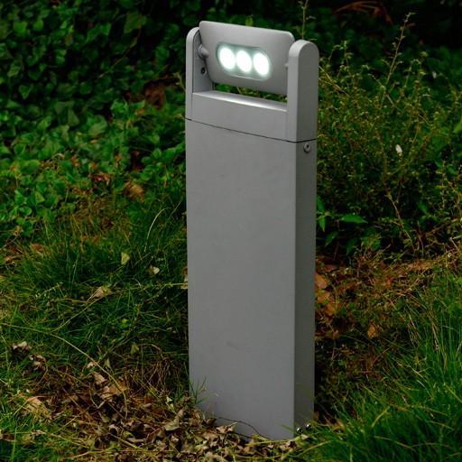 Επιδαπέδιο Φωτιστικό Εξωτερικού Χώρου LED 9Watt Lutec Mini Ledspot από Αλουμίνιο Στεγανό με Περιστρεφόμενη Κεφαλή