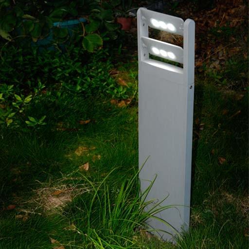 Επιδαπέδιο Φωτιστικό Εξωτερικού Χώρου LED 18Watt Lutec Mini Ledspot από Αλουμίνιο Στεγανό με Περιστρεφόμενες Κεφαλές